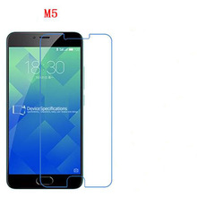 3 PCS HD phone film PE touch preserving eyesight for Meizu M5 screen protector with wipe(China)