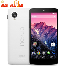 Original LG Nexus 5 D820 D821 GSM 3G&4G Android WIFI GPS 4.95'' 8MP 16GB 2GB RAM Quad-core 4G  Mobile phone