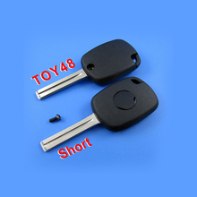 For Lexus 4D Duplicable Key Shell Toy48 (Short) With Groove 10pcs/lot(China)