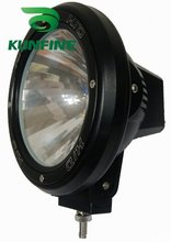 Cheap shipping ! 12V/35W auto HID spot/flood Light, 7' HID off road light ,hid driving Light KF11029+ 14months warranty