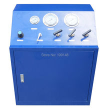 Wellness Model:WS-GB100   80 Mpa  High pressure hydrogen gas booster system ,gas booster Unit for valve testing