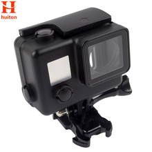 GoPro Hero 4 Underwater Black Color Waterproof Housing Case Replacement for Go Pro Hero 4 Camera with bracket GP225(China)