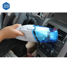 Portable Car Vacuum Cleaner DC 12V Wet And Dry Dual Use Auto Cigarette Lighter Hepa Filter 12V Blue and White Colour