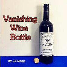 Free shipping Vanishing Wine Bottle - magic trick,close up street bar stage magic prop gimmick,illusion,mentalism