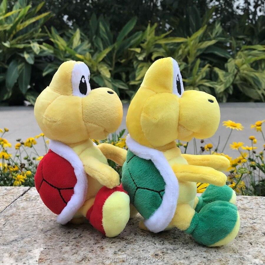 """Nuevo Super Mario Bros Wendy O Koopa Peluche Juguete Animal de Peluche Peluche Suave 6/"""""""