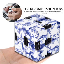 Buy New Fashion Infinity Cube High Fidget Luxury EDC Infinity Cube Mini Stress Relief Fidget Anti Anxiety Stress Funny for $4.21 in AliExpress store