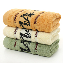 Antibacterial Face Towels Brand Bamboo Charcoal Towels Soft Best Value Decorative Hotel Collection Towels For Bathroom V5831(China)