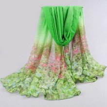 2017 New Special Print Adult Offer Silk Thin Long Design Cotton Scarf Women's Autumn And Winter Bali Yarn Oversized Beach Towel(China)