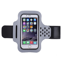 Sweatproof Adjustable Running Sport Armband Bags Cases For iPhone 6 6S 5 5S Samsung Jogging Arm Band Mobile Phone Premium Covers(China)