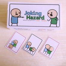 2 pack Joking Hazard with updated Deck Expansion 360 +100 cards Party Game For Adults With Retail Box Practical Jokes