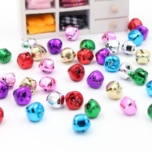 20Pcs/Lot  mini Iron Loose Beads Jingle Bells Christmas Decoration Pendants DIY Crafts Handmade Accessories Size 14*14*13cm