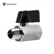 Mini Ball Valve 1/2,1/4,1/8 Inch BSP Male to Female Air Compressor Control For Air Oil Water Brass Water Valve