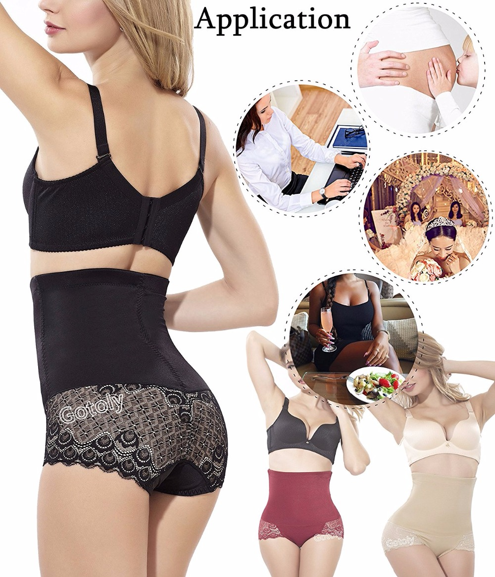 Miss Moly Invisable Body Shaper High Waist Tummy Control Panty Slim Butt lifter Waist Trainer 2