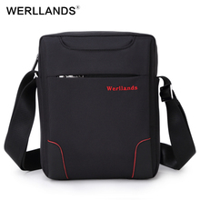 WERLLANDS Small Crossbody Bags For Men Weartproof Oxford Casual Bags Best Designer Single Shoulder Bag Mini Men's Messenger Bag(China)