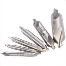 6pcs/set Electrical HSS Center Drill Bits Set Combined Countersinks Drill Bit Kit 60 Degree 5/3/2.5/2/1.5/1mm