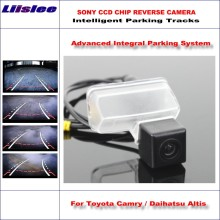 Liislee Intelligentized Reversing Camera For Toyota Camry / Daihatsu Altis 2012-2014 Rear View / Dynamic Guidance Tracks(China)