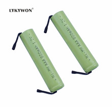 2 Pieces/lot KX Original New 1.2V AAA 800mAh Ni-Mh 3A Ni Mh Rechargeable Battery With Pins Free Shipping(China)