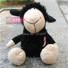 25cm NICI Black Sheep Stuffed Plush Toy, Baby Kids Doll Gift Free Shipping