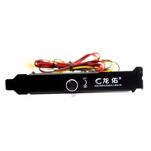 1PCS 3 Channels PC Cooler Cooling Fan Speed Controller for CPU Case HDD DDR VGA Fan(China)