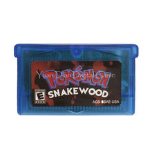 Nintendo GBA Video Game Cartridge Console Card Pokemon Series Snake Wood English Language Version(China)
