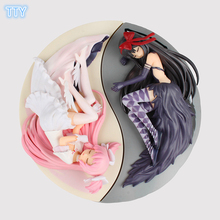 4PCS Magic Girl Action Figure Anime Magic girl Kaname Madoka Akemi Homura sex figures 25cm PVC model toys for collection gifts