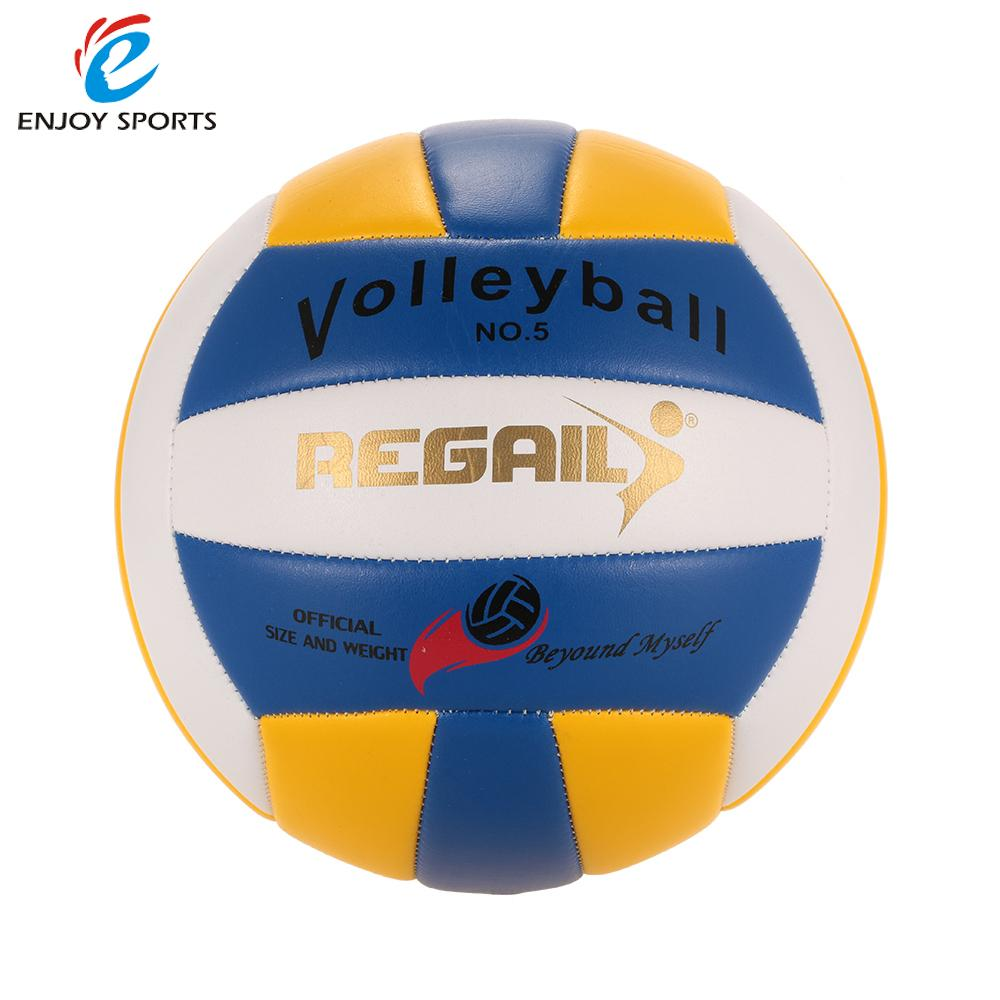 Official Size 5 PU Volleyball Soft Touch Volley Ball Indoor Outdoor Training Ball Match Beach Gym Game Ball(China (Mainland))