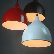 3HEAD freeshipping Minimalist pendant lamp shade three dining restaurant luminum lamp bedroom lamp FG601(China)