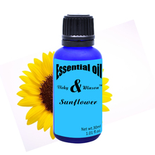 Vicky&winson Sunflower aromatherapy essential oils based 30ML promote human cell growth and then massage oil soap VWXX18