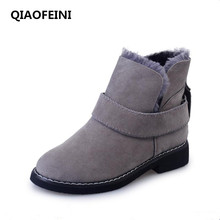 2017 classic retro snow in winter to keep warm female boots soft undercoat women shoes fenty fashion sexy women boots hot(China)