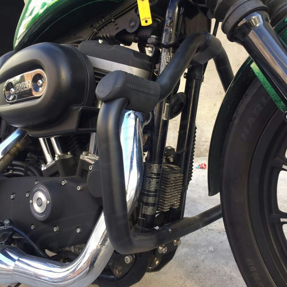 Motorcycle Highway Crash bars Protector Guard Falling Protection For Harley Davidson Sportster XL1200 XL883 Forty Eight Iron883 Seventy Two