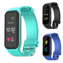 16M Full Color LCD Smart Wristband 24H Heart Rate Monitor Cardiaco Smartwatch Health IOS Xiaomi Sony PK Mi band 2/Fit 3 - J&Z Elec Top Store store