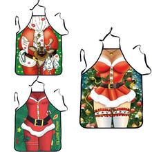New Arrival Novelty BBQ Apron Christmas Gift Funny Sexy Party Apron Cooking Kitchen Apron Funny