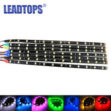 2Pcs/Lot SMD LED 5050 Flexible Waterproof Lights Strip Car Auto Decorative Flexible LED Strips Lamps high bright Car CJ