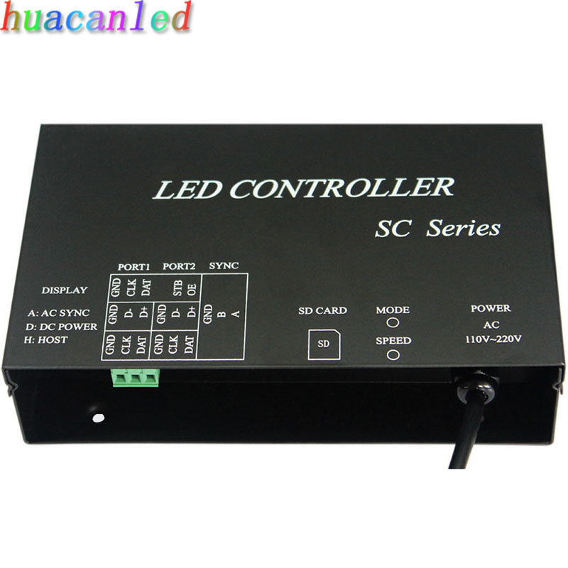 LED controller work with DMX512 console occupy 3 channels support dozens of chips WS2812 WS2811 controller strip controller<br><br>Aliexpress