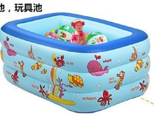 Cute Summer Baby Swimming Pools Inflatable Baby Kids Swim Bath Piscina Paddling pool Eco-friendly PVC Portable(China)