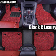 ZHAOYANHUA car floor mats for Mercedes Benz A B180 C200 E260 CL CLA GLK300 ML S350/400 car styling carpet floor liner(China)