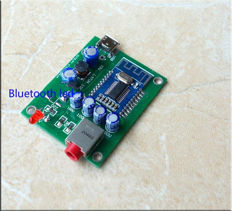 HIFI high quality Bluetooth 4.2 Receiver Board Decoder DAC Board 48X36MM