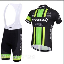 2016 New Green and Black Cycling Bicycle Jersey Tour De France Short Bike Bicicleta Ropa Roupas Ciclismo Clothing MTB Set Bib(China)