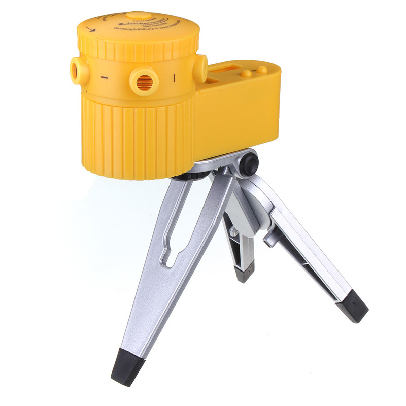 Worldwide Multifunction Cross Laser Level Leveler Vertical Horizontal Line Tool With Tripod #H3 Laser wave-length 630-680nm<br><br>Aliexpress