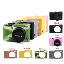 Nice Soft Camera Video Bag For Panasonic Lumix GF9 Silicone Case Rubber Camera case Protective Body Cover Skin