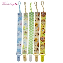 Buy New Baby Pacifier Clip Pacifier Chain Dummy Clip Nipple Holder Nipples Children Pacifier Clips Soother Holder Pacifiers for $2.65 in AliExpress store
