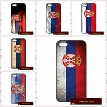 Serbia flag Phone Cases Cover For iPhone 4 4S 5 5S 5C SE 6 6S 7 Plus 4.7 5.5  AM0688