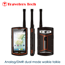 Analog/DMR dual mode Walkie Talkie Smartphone ALPS W305 4 Inch Octa Core 3GB RAM 32GB ROM 4G LTE 5000mAh IP68 waterproof phone