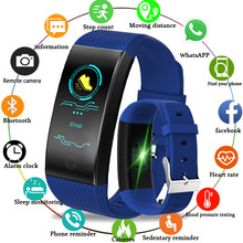 2018 New Listing Fitness Tracker Smart Bracelet Men Women Sport Pedometer OLED Color Touch Screen Smart Wristband PK mi band 3(China)