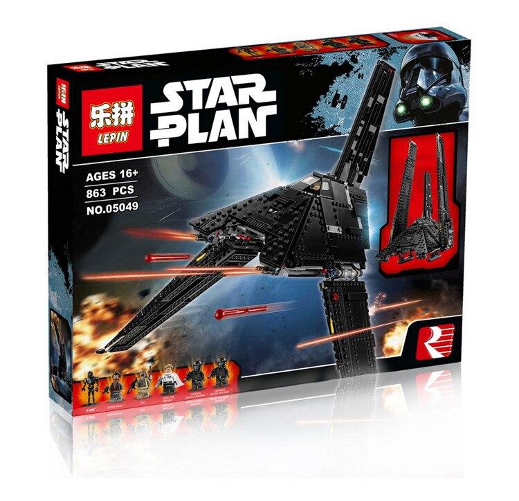 LEPIN 05049 STAR WARS Rogue One StarWars Emperor fighters starship Model Building Kit Blocks Bricks Toy Compatible 75156<br><br>Aliexpress