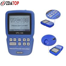 ZOLIZDA VPC100 Car Key Pin Code Reader / Calculator for Auto Locksmith VPC 100 with 300+200 Tokens Super OBD(China)