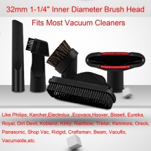 5Pcs/Lot Vacuum Cleaner Cleaner parts horsehair nozzle head & Brush for Philips karcher electrolux ecovacs Replacement