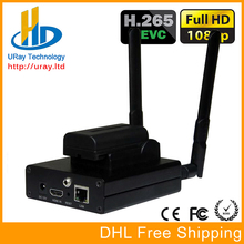 H 265 HDMI IP Streaming RTMP Encoder HEVC H.265 IPTV Encoder Transmitter For IP Video Audio Sreaming For Wowza Server FMS