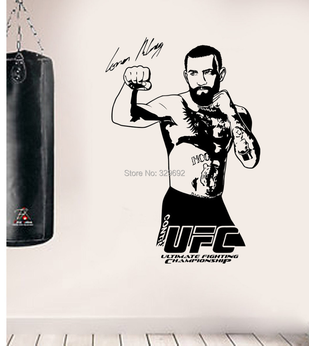 Boxing wall decals