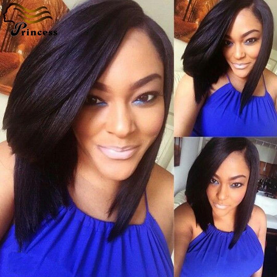 7A Malaysian Human Hair Bob Wigs Straight Full Lace Virgin Hair Wigs For Black Women Glueless Short Lace Front Wigs Human Hair<br><br>Aliexpress